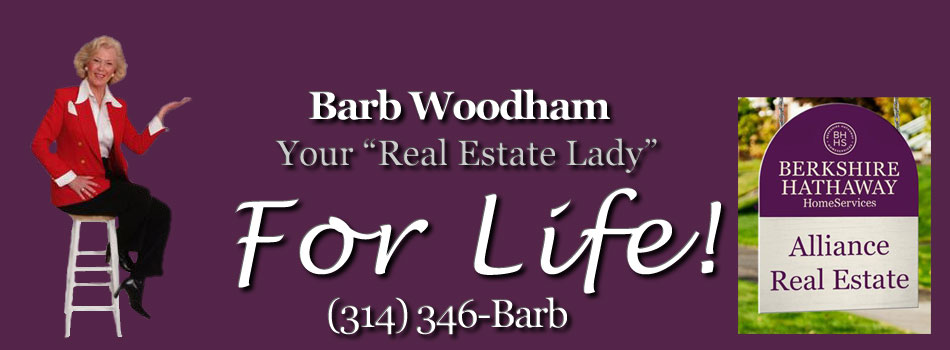 Barb Woodham West St Louis Prudential Realtor Real Estate Lady